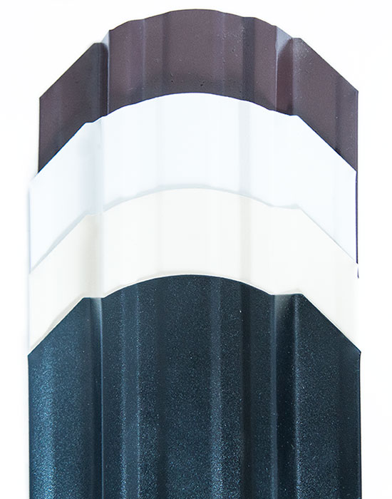 Евроштакетник порошковый матовый 118мм