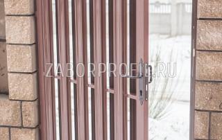 Евроштакетник Премиум 118мм порошковый глянцевый RAL 8017