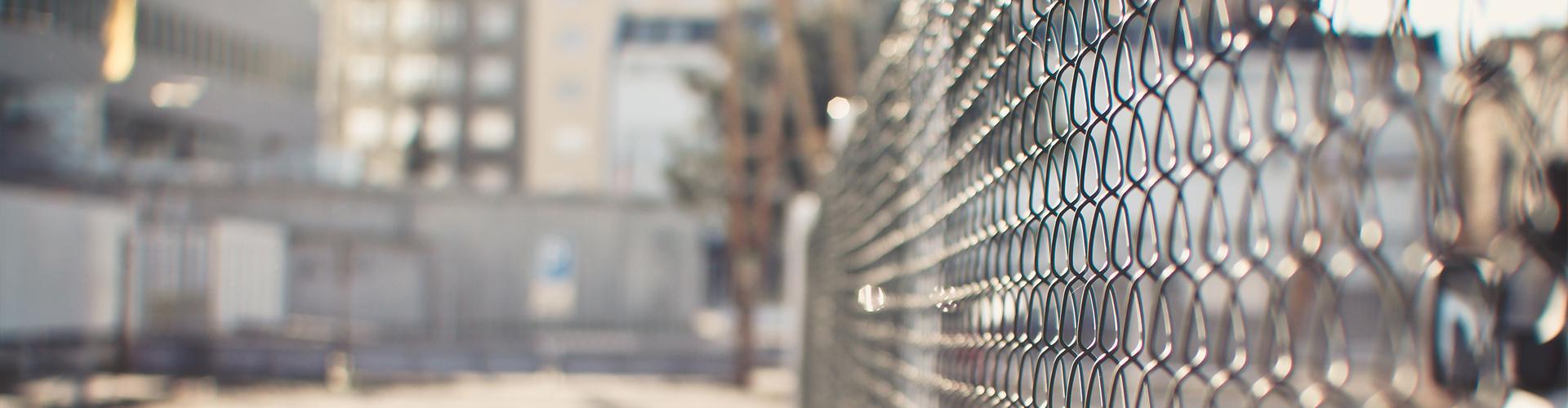 Слайдер - Забор из сетки рабицы