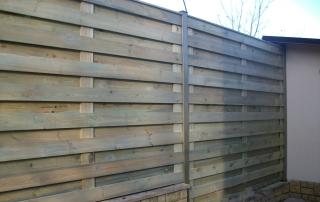 Деревянный забор Ранчо (сосна)