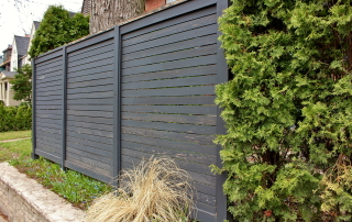 Деревянный забор Модерн (Дуб)