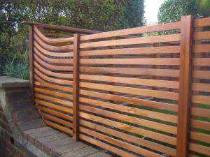 Деревянный забор Модерн (ТермоСосна)