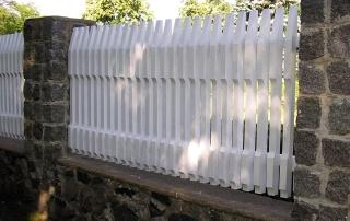 Деревянный забор Гроза (Сосна)