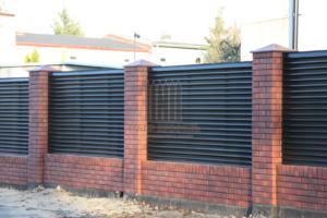 Забор Жалюзи RAL 8019 в Сургуте