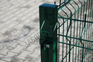 Забор из 3Д сварной сетки