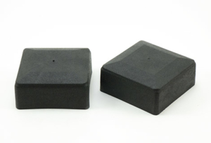 Заглушка пластиковая для профтрубы внешняя колпаком