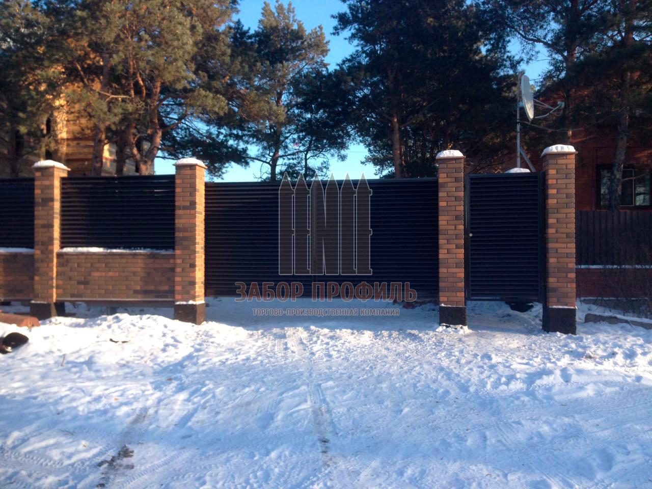 Забор Жалюзи Казахстан